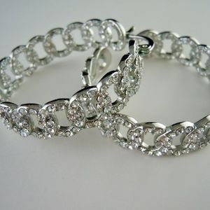 Jewelry - Cubic Zirconia Hoops